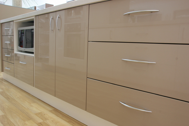 Comfortable Furniture Polyurethane Kitchen Cupboards