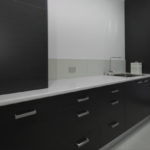 Melamine Laundry with Reconstituted bench-tops