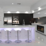 Lighting is a great way to add some style and class to any kitchen