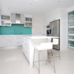 Simple elegance with Reconstituted White Snow from Caesarstone